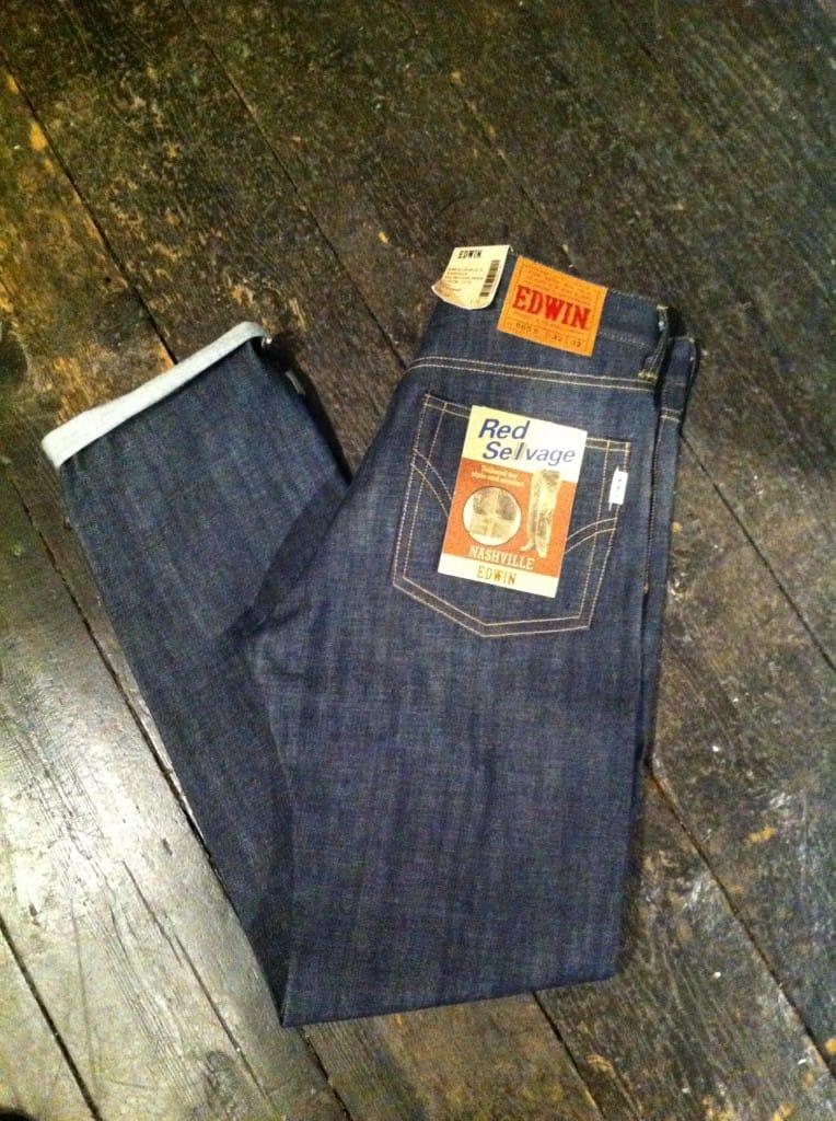 Edwin Jeans at Stuarts London