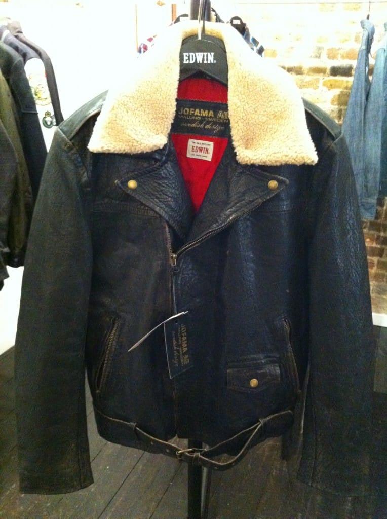 Edwin Leather Jacket x Jofama Leathers