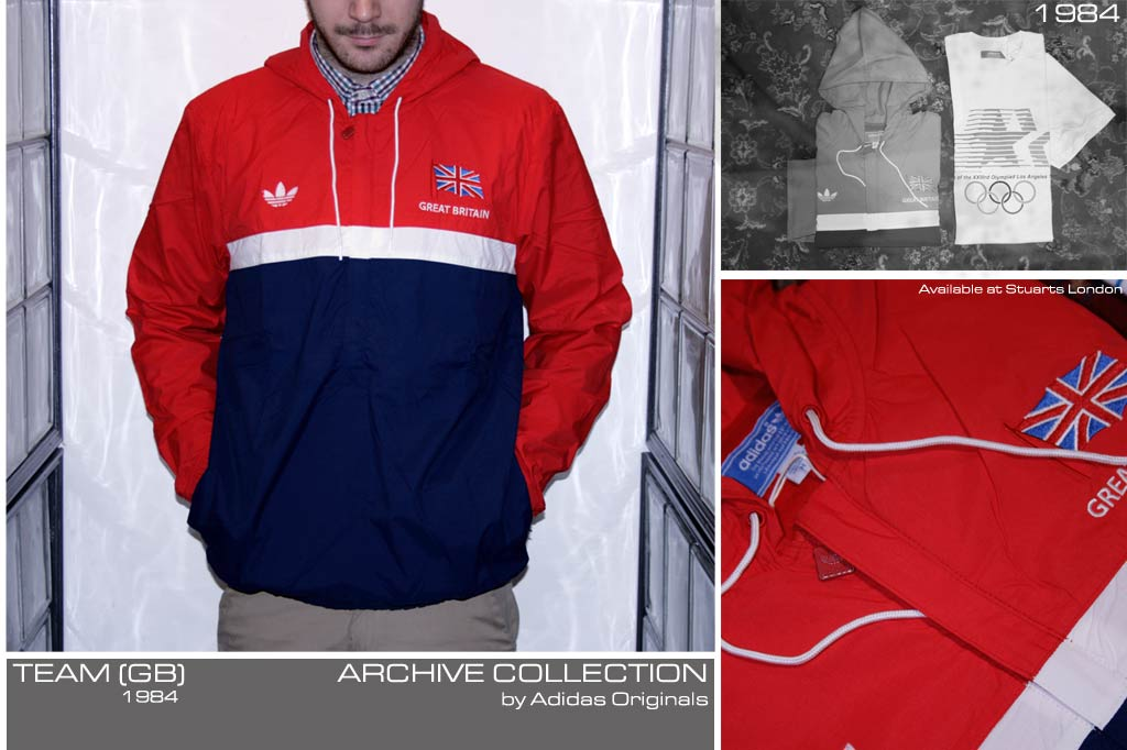 Adidas Originals Olympics Team GB Archive Collection from 1984 ... 2cbec4d40