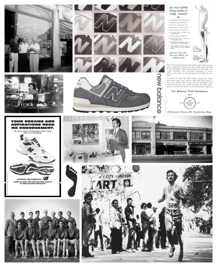 history of new balance shoes