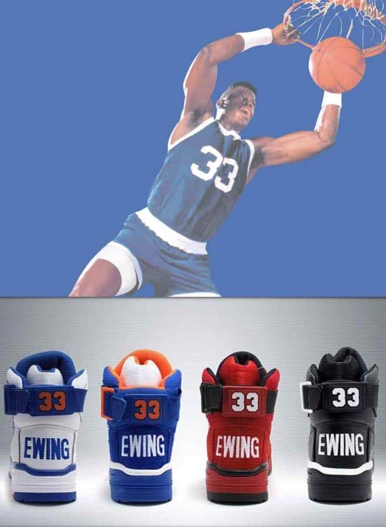 f0a07ccf6a4 Patrick Ewing – Exclusive Vintage Basketball boots – Ewing 33 Hi ...