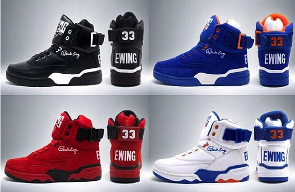 922ea91f522 The 1980s gave birth to the signature basketball shoe as many players  received their own shoe model from companies, and in 1989 Patrick Ewing  took it one ...