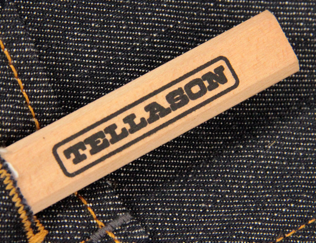 Tellason Jeans at Stuarts London made in USA , Cone Denim
