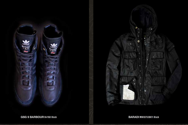 Barbour And Adidas Originals Collaborate Available To