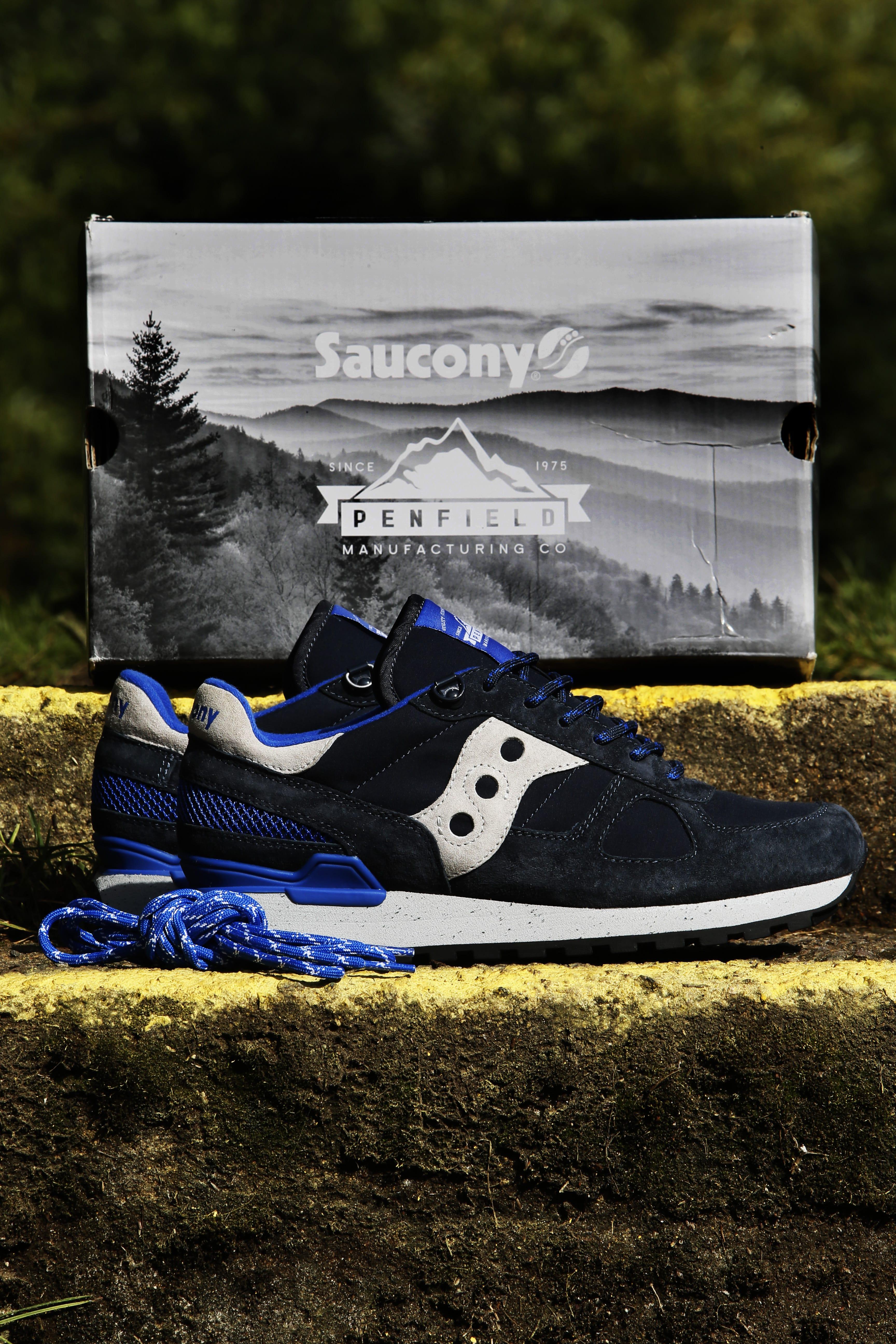 penfield x saucony shoes