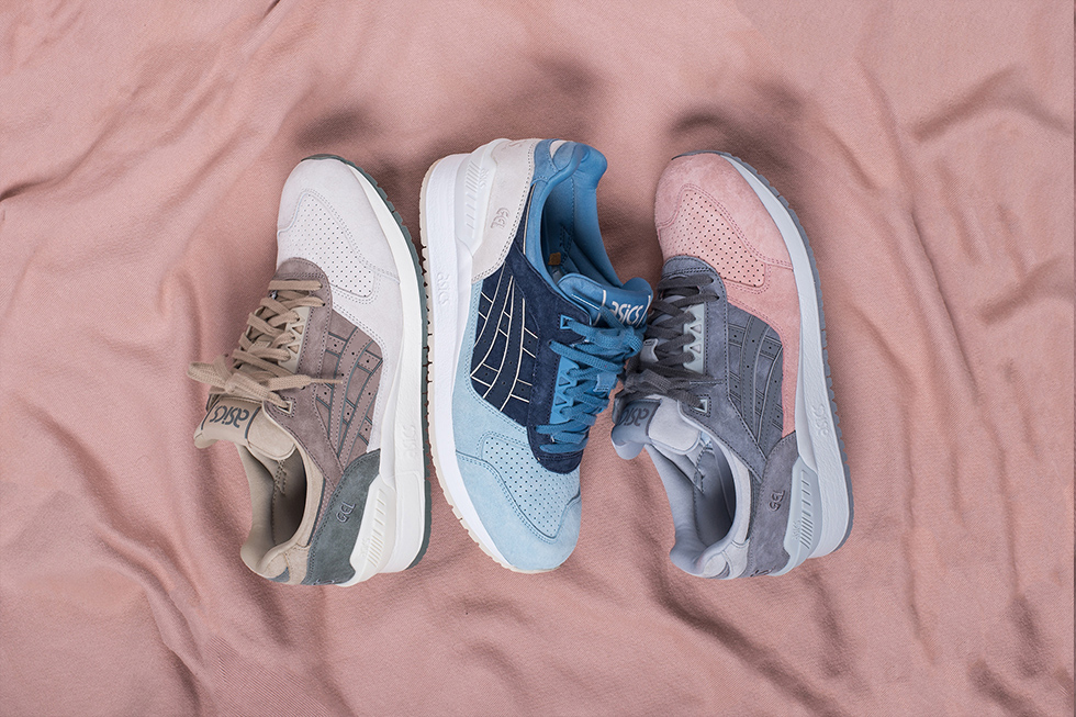 "Asics Gel Respenctor ""Japanese Garden Pack"""