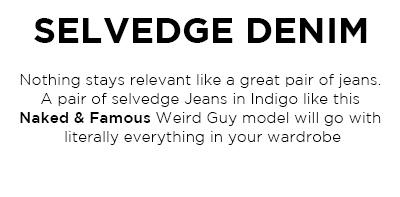 Selvedge Denim Jeans