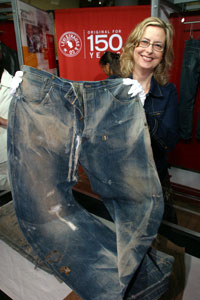 Original Levis Denim SOld for a record $46,000 Dollars