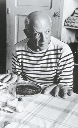 Picasso wearing Saint James Clothes