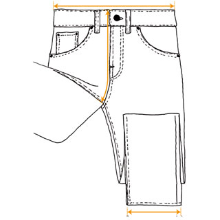Nudie Jeans Diagram