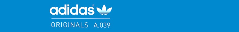 White Adidas Originals Blue Collection