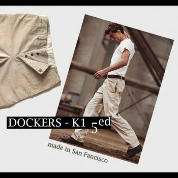 Dockers - Win a Pair of K1 Made in USA - Vintage Chino