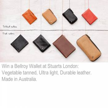 Win a Free Bellroy Wallet - Made in Australia