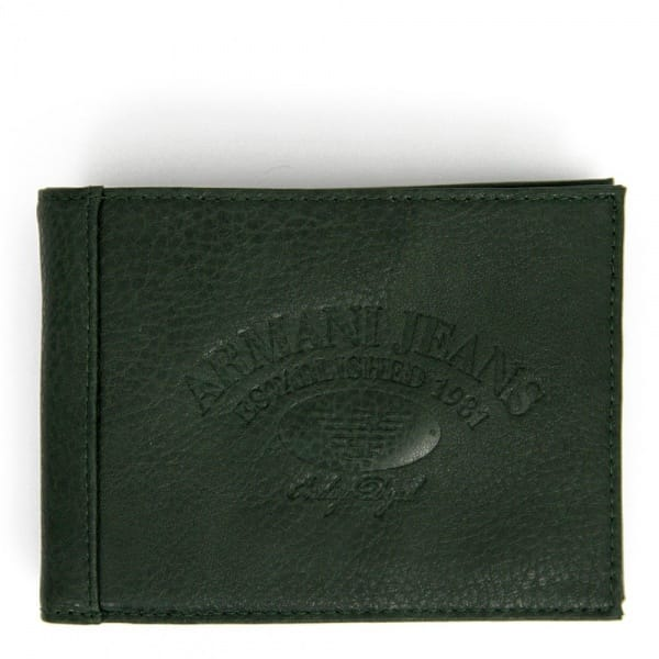 Armani Jeans Accessories Green Wallet V6V17