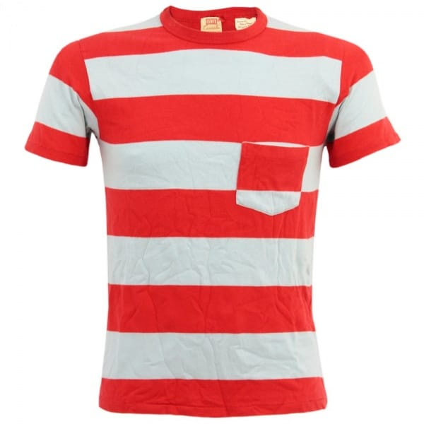 Image of Levis Vintage 1960s Striped Red T-Shirt 31960-0021