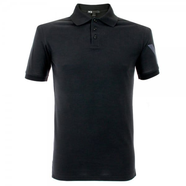 Image of Adidas Y-3 Black Polo Shirt M38479