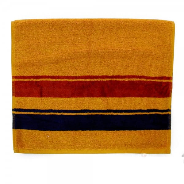 Image of Pendleton Woolen Mills Stone Park Marigold Yellow Hand Towel B2115093