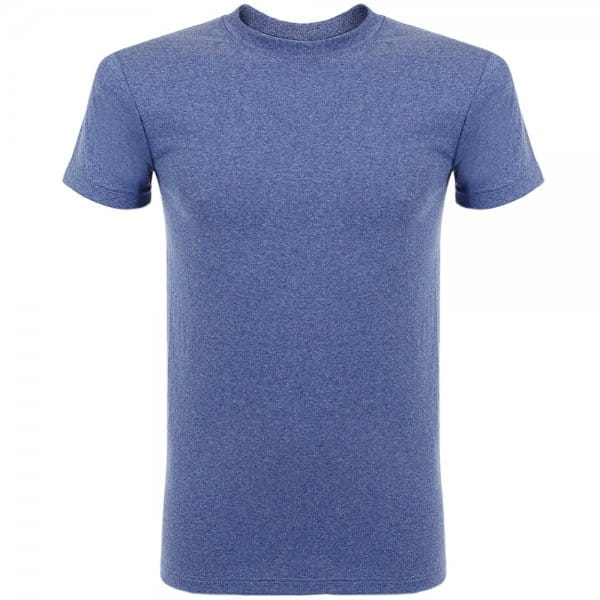 Image of Naked and Famous Vintage Circular Knit Blue T-Shirt