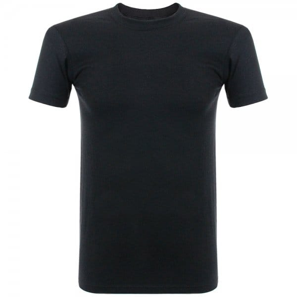 Image of Naked and Famous Vintage Circular Knit Black T-Shirt