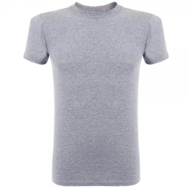 Image of Naked and Famous Vintage Circular Knit Grey T-Shirt