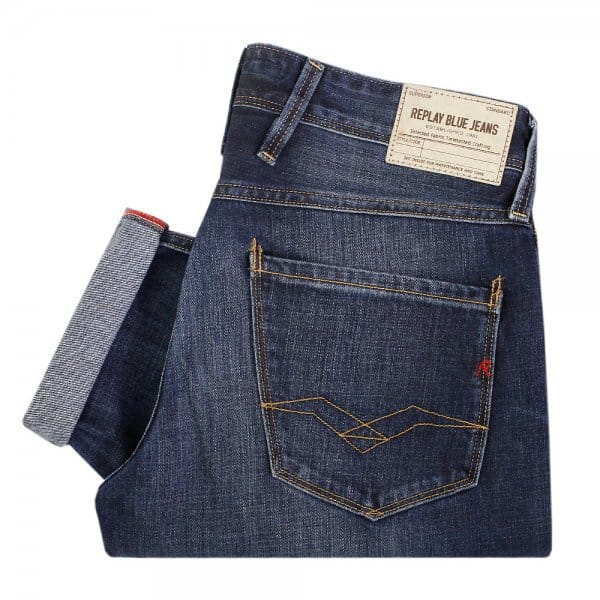Replay Jeans Anbass Deep Blue Jeans M9146063