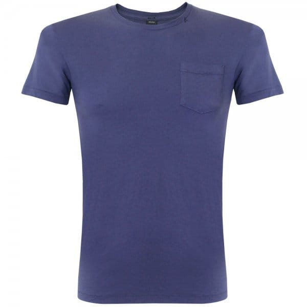 Replay Jeans Plain Navy TShirt M6724S