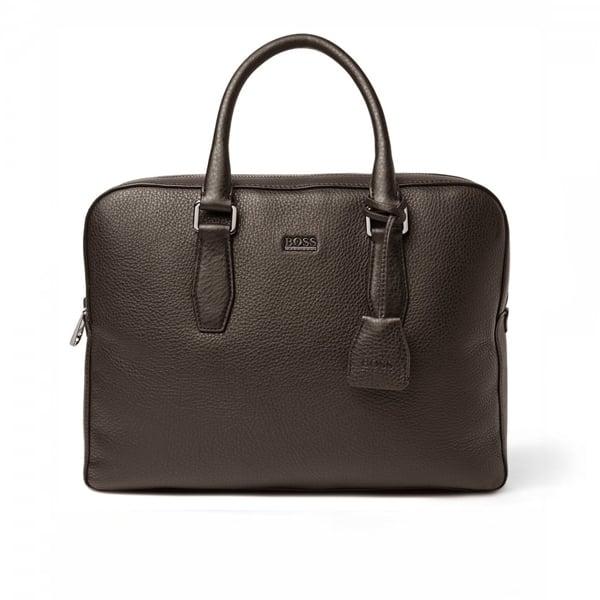 Hugo Boss Black Briefcase Gardo Dark Brown 50297559 201