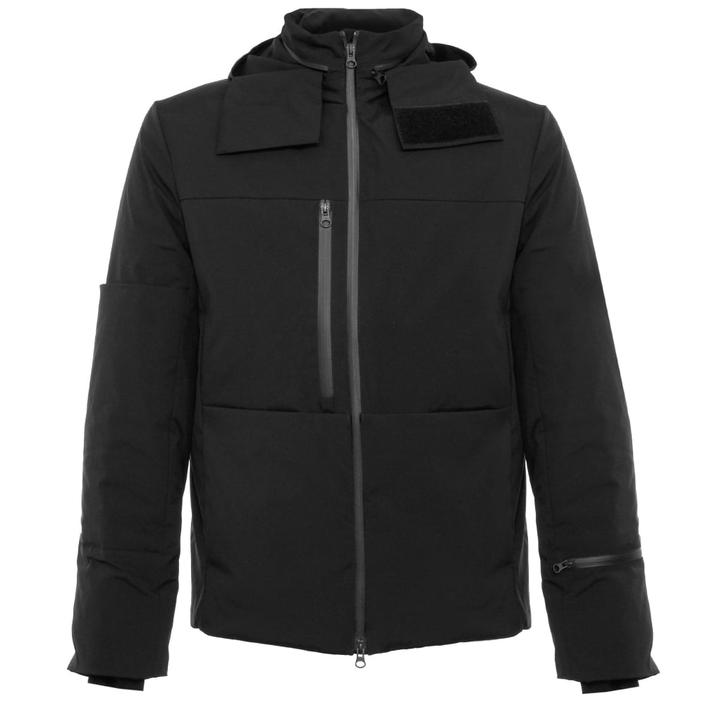 Adidas Y3 Matte Black Down Jacket AZ4995