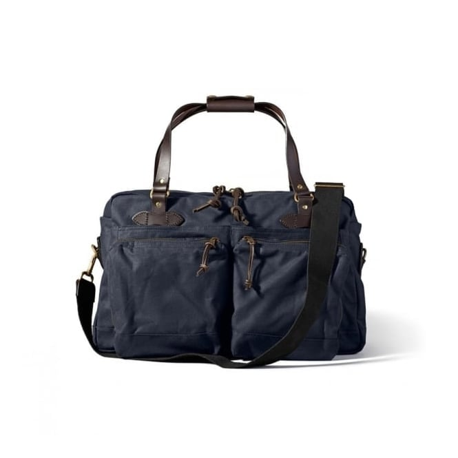 Filson 48 Hour Tin Cloth Duffle Bag - Navy