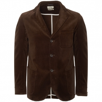 50th Anniversary Chocolate Corduroy Solms Jacket