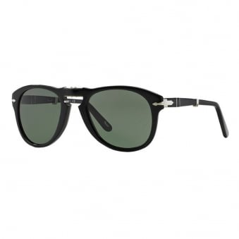 714 Foldable Sunglasses- Black & Grey
