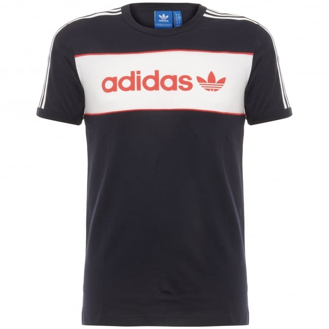 Adidas Originals Adidas Block Tee Black T-Shirt BK7788