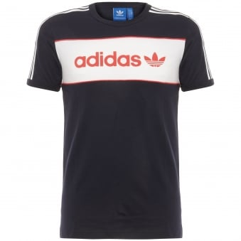 Adidas Block Tee Black T-Shirt BK7788