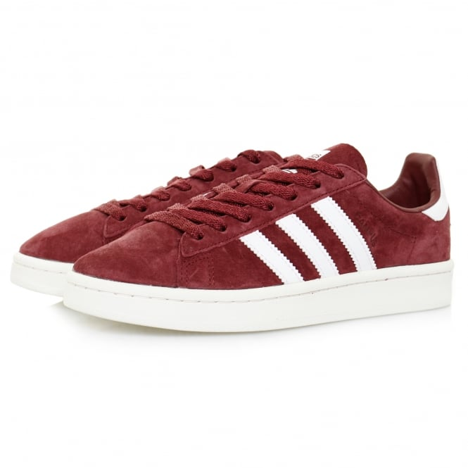 Adidas Originals Adidas Campus Burgundy Shoe BB0079