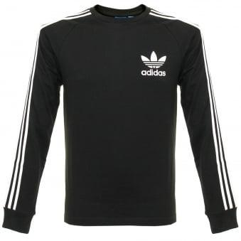 Adidas CLFN LS Black T-Shirt BK5864