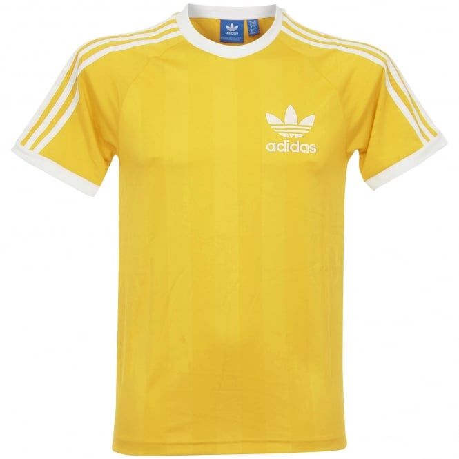 Adidas Originals Adidas CLFN TEE Yellow T-Shirt CF5305