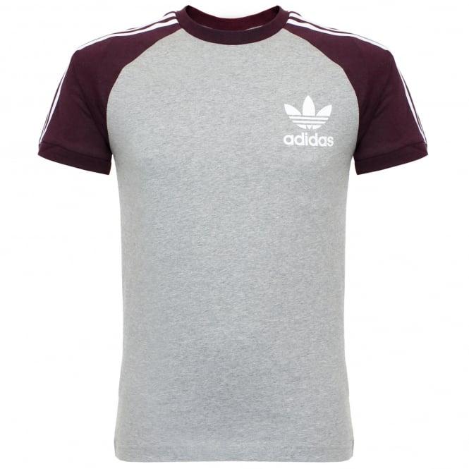Adidas Originals Adidas Essentials California Medium Grey T-Shirt AY8277