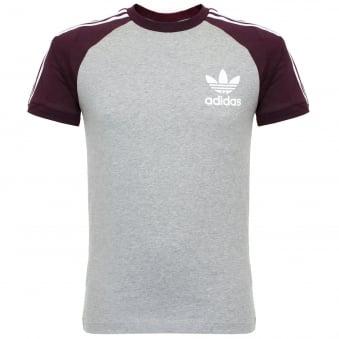Adidas Essentials California Medium Grey T-Shirt AY8277