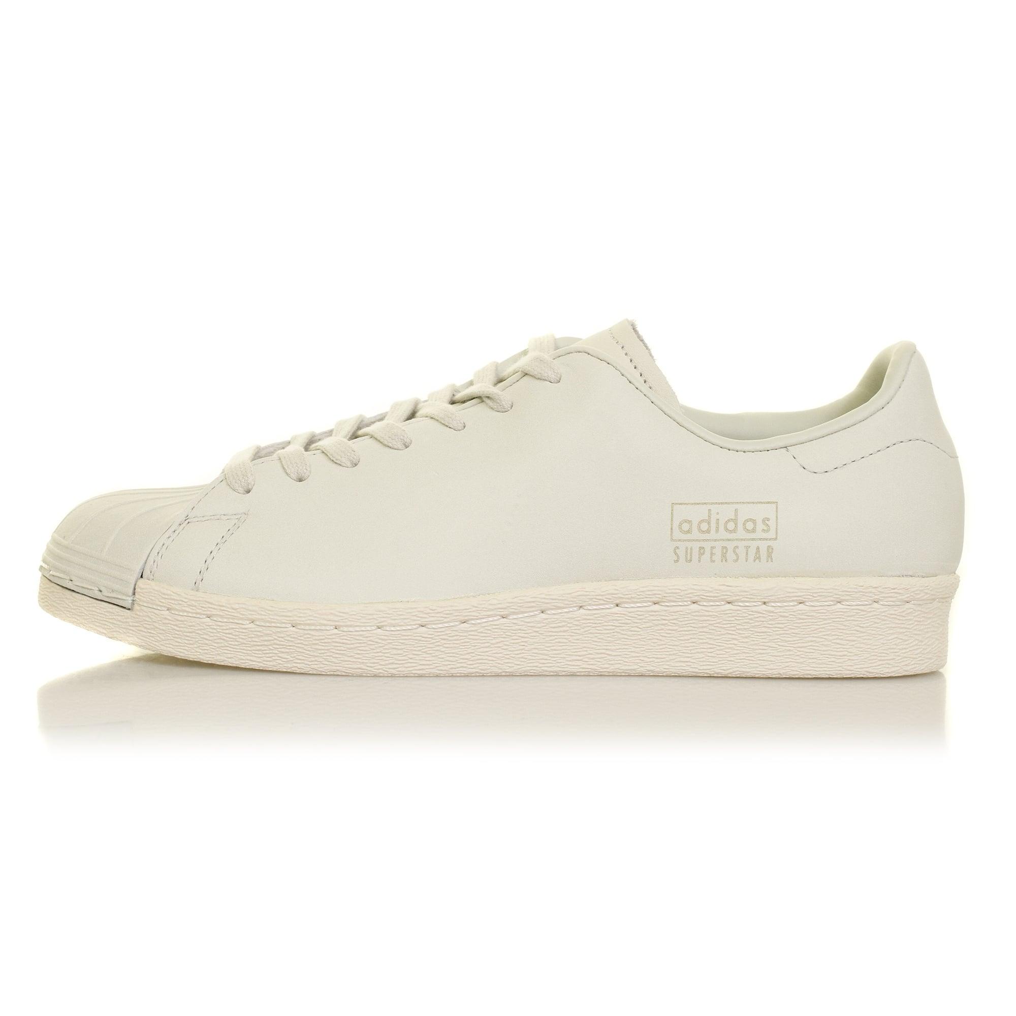 designer fashion bf7b8 89e02 adidas superstar 80s clean white