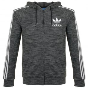 Adidas Originals  CLFN FT FZ Black Track Top BK5891