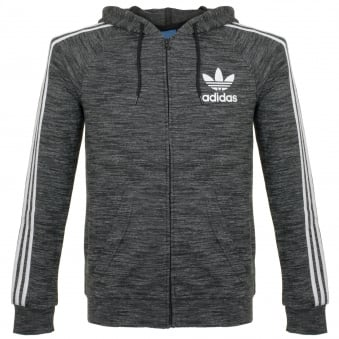 Adidas Originals  CLFN FT FZ Black Track Top BK5891