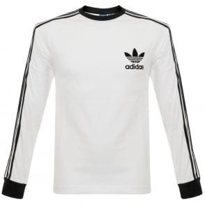 Adidas Originals CLFN LS White T-Shirt BK5863