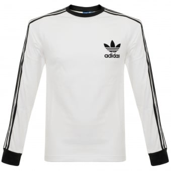Adidas Originals CLFN LS White T-Shirt BK5863