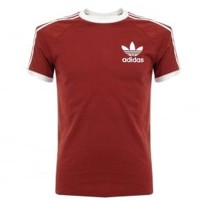 Adidas Originals CLFN Red T-Shirt BQ5370