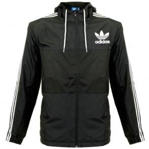 Adidas Originals CLFN WB Black Jacket AY7747