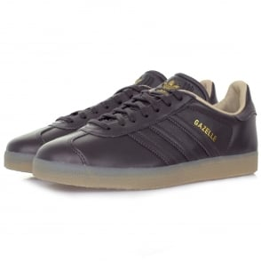 Adidas Originals Gazelle Dark Grey Leather Shoe BB5504