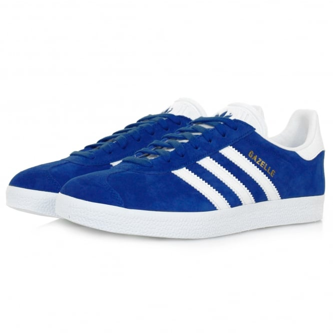 Adidas Originals Adidas Originals Gazelle Royal Blue Suede Shoe S76227