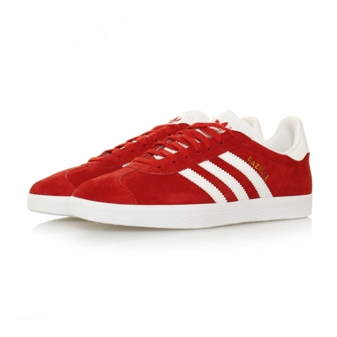 Adidas Originals Gazelle Scarlet Red Shoes S76228