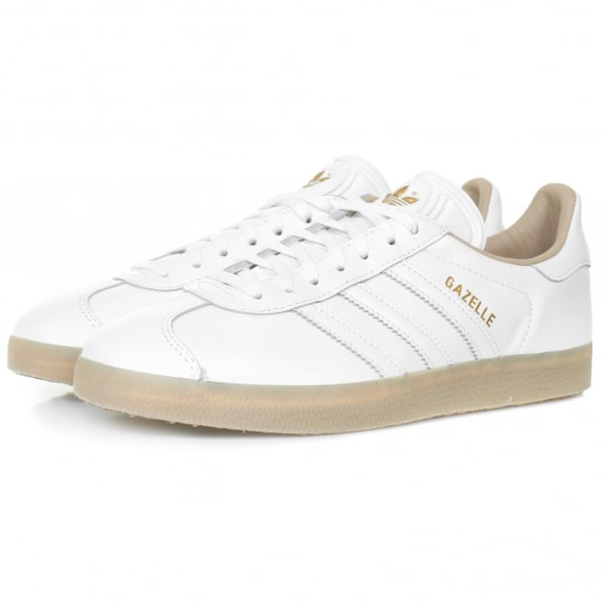 Adidas Originals Adidas Originals Gazelle White Leather Shoe BB5503