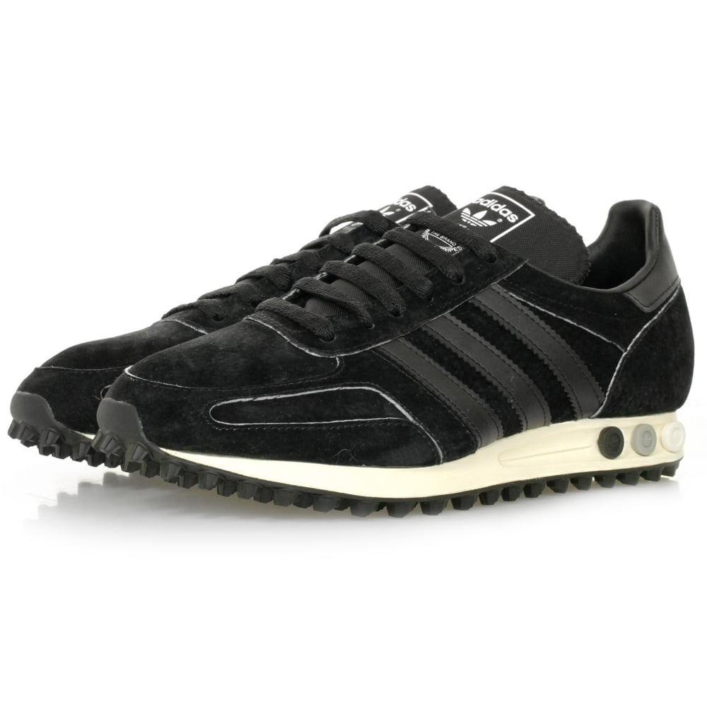 adidas originals online la trainer og black shoe. Black Bedroom Furniture Sets. Home Design Ideas